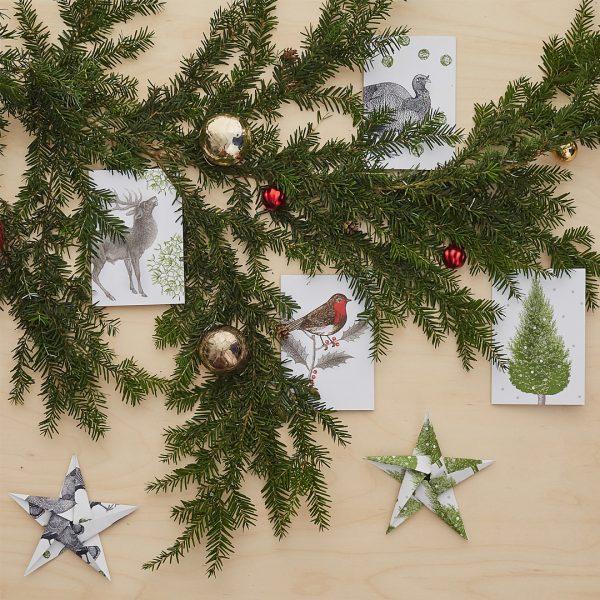 Thornback & Peel Christmas Is Go! Christmas Cards