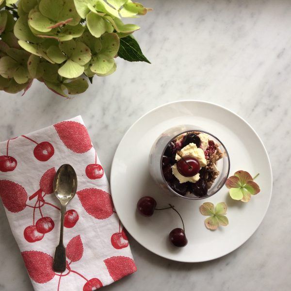 Black Forest Cherry Eton Mess Recipe by Thornback & Peel